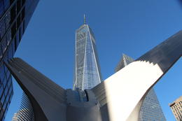 View of One World Observatory through the Occulus , Bryan D - January 2017