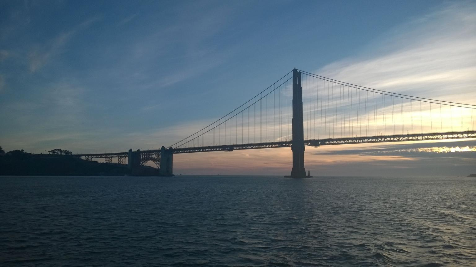 MÁS FOTOS, Straight to the Gate Access: San Francisco Bay Twilight or Sunset Cruise