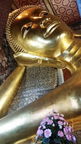 Reclining Buddha , Jane N - January 2018