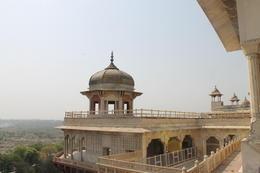Tower in Musamman Burj from where Shah Jahan used to see Taj Mahal - September 2012
