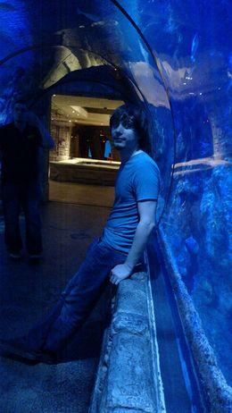 In the underwater tunnels, Josh - February 2015