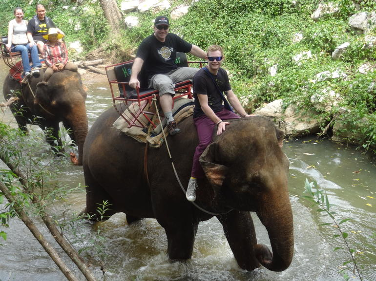 Elephant Ride Khao Yai - Bangkok