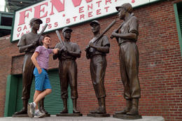 Fenway Park, Jules & Brock - July 2012