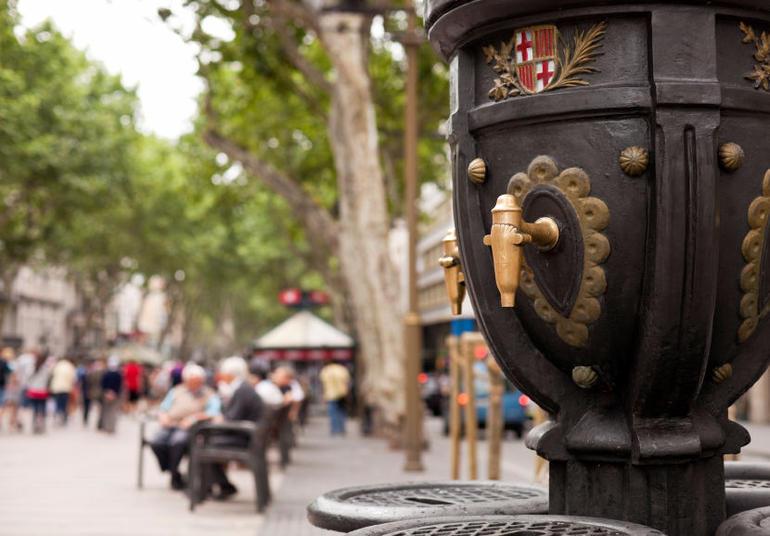 Font de Canaletes, La Rambla - Barcelona