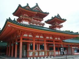 Beautiful Heian Shrine, Eric H - October 2009