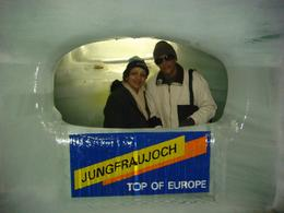 On top of the mountain of Europe. One really enjoys the stunning beauty of Ice Palace. We had been to Mount Titlis earlier but this place was really different., Sudhir K A - September 2009