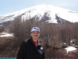 A magnificent view of Mt. Fuji at the 5th Station, RANDOLPH A - April 2010