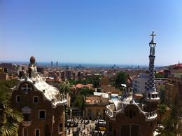 Amazing view of Barcelona from Parc Güell , Nikki H - July 2012