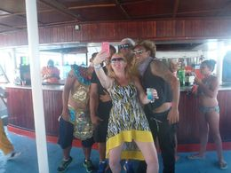 It was a dance party all the way home! Even participated in a conga line! Too much fun! , Ronnie K - June 2015