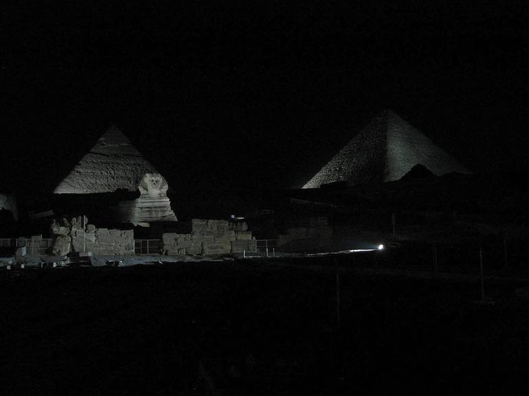 Pyramids and Sphinx - Cairo