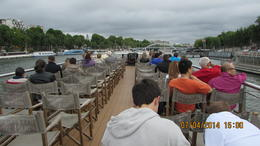 Enjoying the sites from the Seine. , Joanne S - July 2014