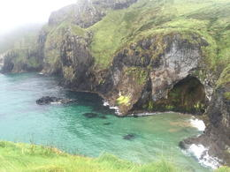 View from the other side of the rope bridge , Jessica A G - September 2016