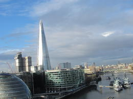 View on the Shard from the Tower Bridge , Pavol K - January 2014