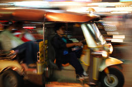 A Tuk Tuk in Thailand (Bangkok) - June 2011