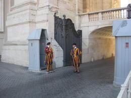 de paus wordt goed bewaakt , Lambertus d - September 2016