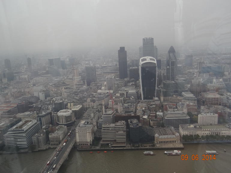 The View from The Shard Entrance Ticket with Optional Champagne