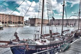 Tourists can walk around the whole of Albert dock and admire the pretty boats moored alongside. , David Lally - September 2015