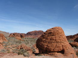 This is an actual rock formation that looks like a beehive. , Vanessa B - March 2012