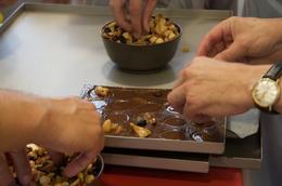 Adding nuts, Sherry Ott - September 2012