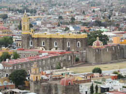 The view from the top of the hill over Cholula. , Kevin F - May 2013