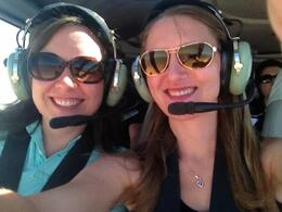 Getting ready to take off! , Melissa D - September 2012