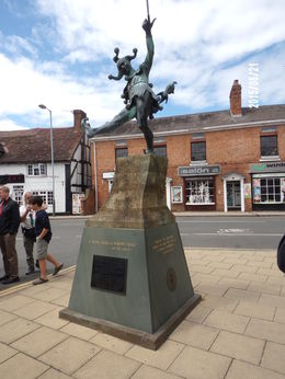 This statue reminds you what Stratford is all bout. , Ed - June 2015