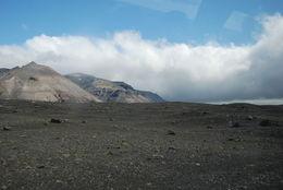 Sydkusten består av mången lavafält , hemi-crania - August 2015