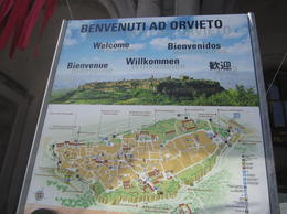 Map of Orvieto , Riikka H - June 2013