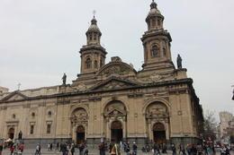 In the Plaza Mayor in Santiago, Bandit - October 2013
