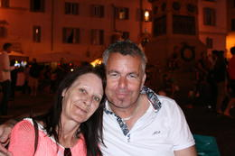 Met Hayden and Pauline in Rome on the Segway tour. , Kenneth B - July 2014