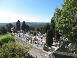 Cemetery at Saint Paul de Vence, France , Nancy B - October 2014