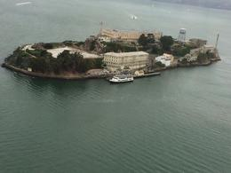 View of Alcatraz from above , Catherine R - August 2014
