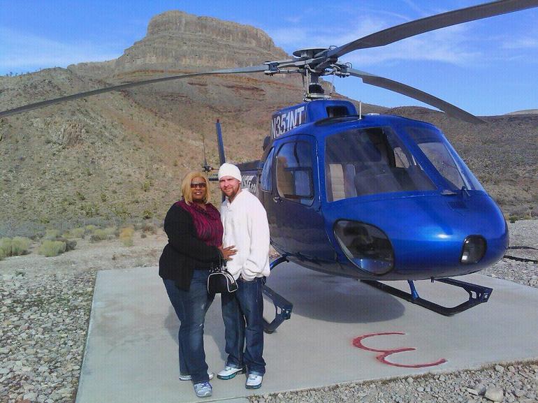 Shane and I at Grand Canyon Ranch - Las Vegas