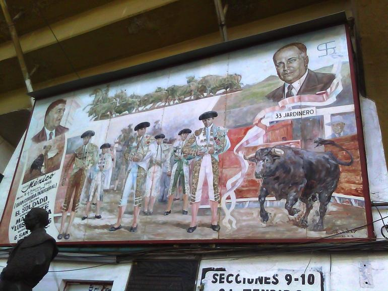 The Bull Fighters of Mexico - Mexico City