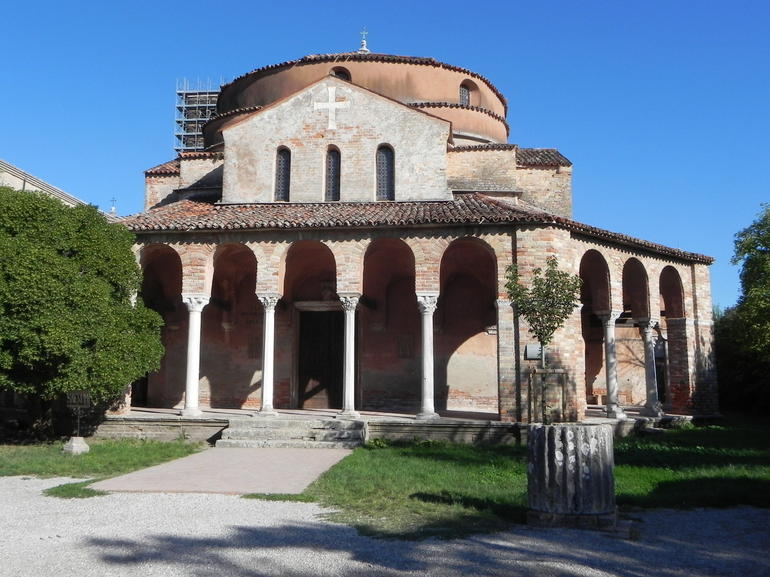 The old church on the island of Torcello - Venice