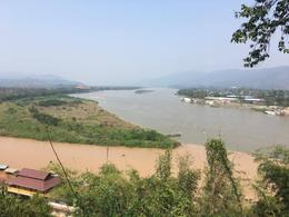 The Golden Triangle where Thailand meets Myannmar Burma and Laos , Janine I - April 2017