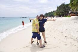 ME and MY WIFE ENJOYING THE BEAUTY OF PHI PHI ISLAND , larcy - October 2017
