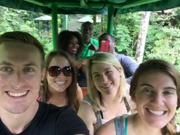 On the aerial tram! Saw a lot of interesting birds., Katiemo - May 2015
