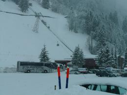 This was taken at the bottom of mount Titlis, Linda C - March 2009
