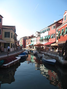 One of the many beautiful canals on Burano , Lynette H - September 2013