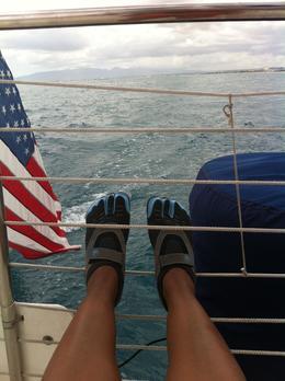 Catamaran life is sooo peaceful. , Ora C - June 2013