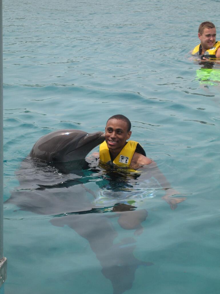 Dolphin Kiss - Puerto Plata