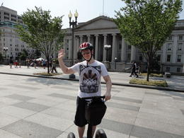 What a brilliant way to tour DC minceing on a segway! , Georgina A - August 2011