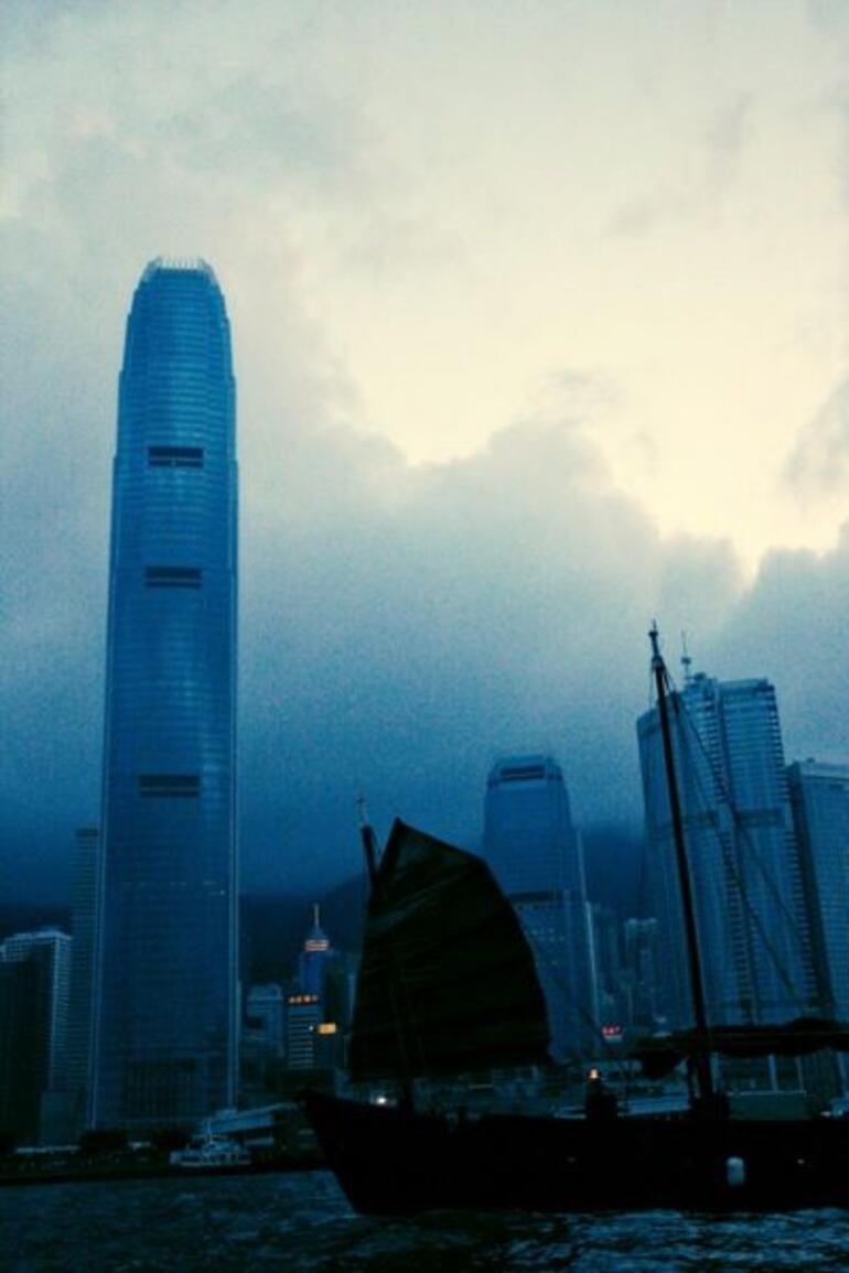 Hong Kong Junk Boat - Hong Kong