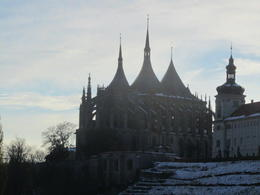 St. Barbara Cathedral from the distance. Very impressive to look at from all angles. , Chrissy B - November 2012