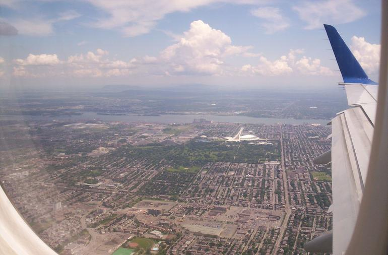 Montreal View from the Air - Montreal