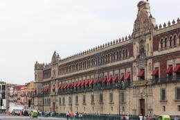 Palacio Nacional (National Palace) which rests on the East side of Zocalo., Bandit - September 2012