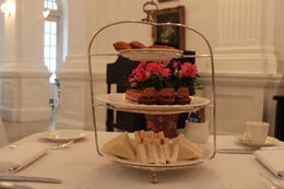 Lovely afternoon tea - but a bit strange having hot dim sum as part of it! , J M M - April 2012