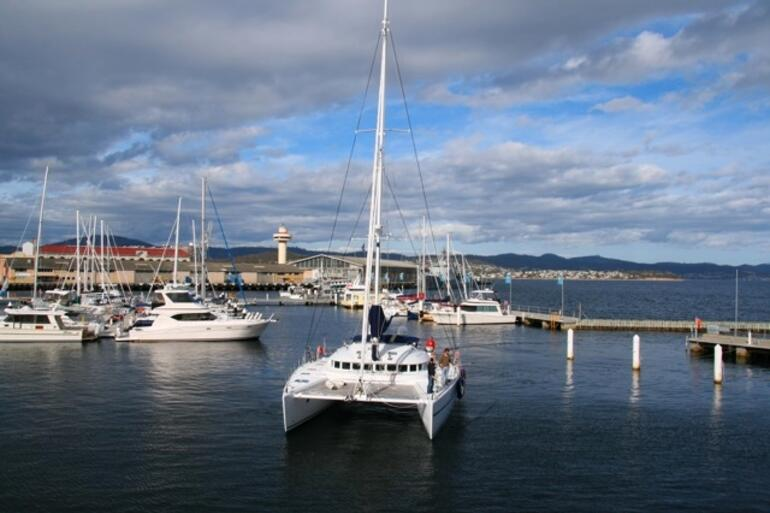 Outside my window - Hobart