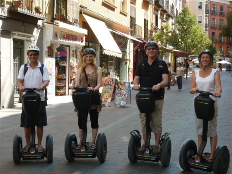 Ready for the Segway tour of Central Madrid - Madrid